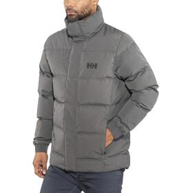 Helly Hansen Dubliner Down Jacket Men Black Melange